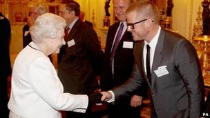 Heston Blumenthal and the Queen