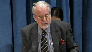 Lead UN investigator Paulo Sergio Pinheiro