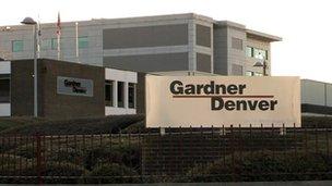 Gardner Denver factory in Ipswich