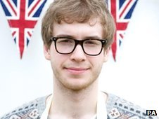 James from Great British Bake Off