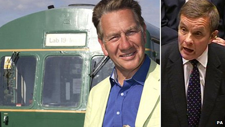 Michael Portillo and David Jones