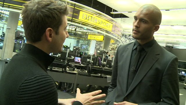 Ricky talks to Clarke Carlisle