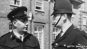 Two police officers in 1964