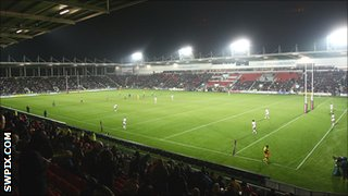 Langtree Park, home of St Helens