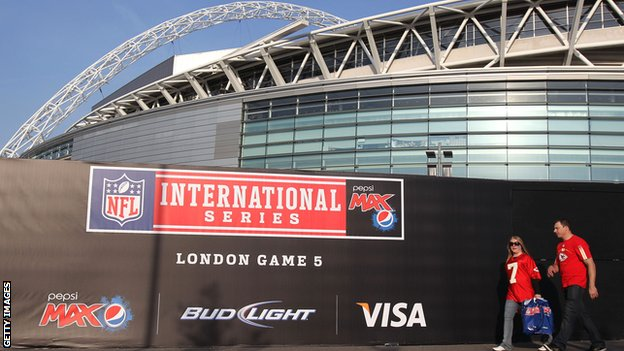 Wembley has hosted regular-season NFL games since 2007