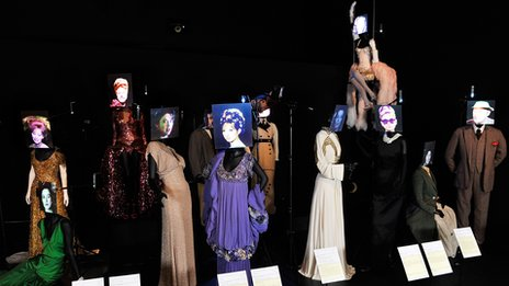 Display from the Hollywood Costume exhibition. Photo by Gareth Cattermole