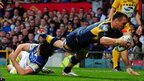 Kevin Sinfield try