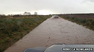 Flooding in St Bees