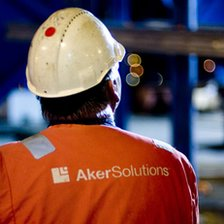 Aker Solutions worker