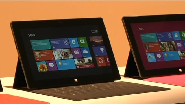 Microsoft tablet