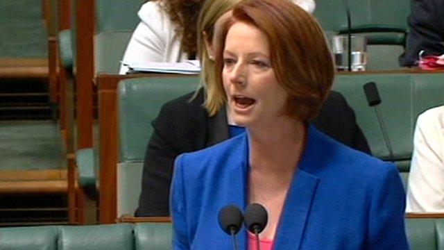 Australia PM Julia Gillard