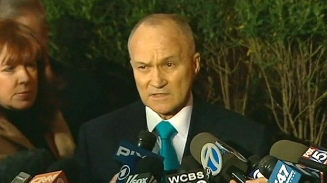New York City Police Commissioner Ray Kelly