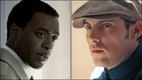 Chiwetel Ejiofor and Joe Wright