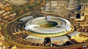 GCHQ building