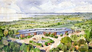 Plans for Havens Hospice at Leigh-on-Sea