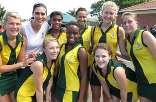 Danville Park's netball team, which represented the province at the National Netball Championships!