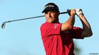 Golfer David Howell