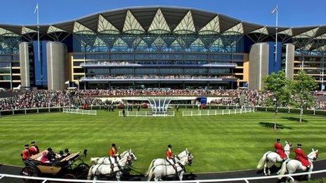 Procession at Royal Ascot