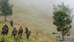 Farc guerrillas (file pic 2012)