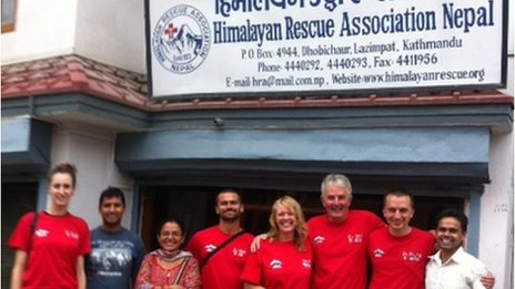 Himalayan Rescue Association team