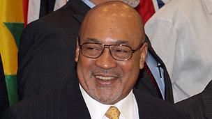 Suriname President Desi Bouterse