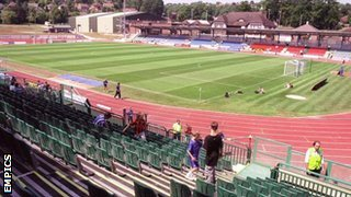 The Withdean Stadium