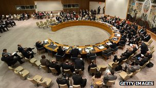 UN Security Council (file pic Sept 2012)