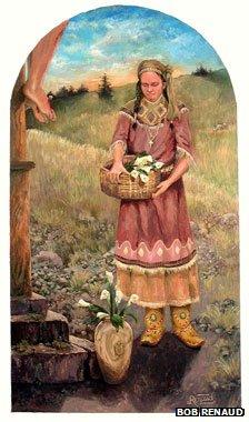 Bob Renaud painting
