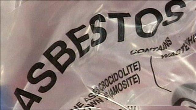 Asbestos bag