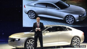 Stefan Jacoby at the Shanghai motor show in April 2012