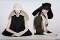 Xiao Wen and Lui Wen as samurai nuns, New York, 2011