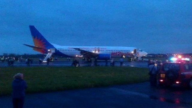 Jet2 plane on runway