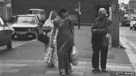 File photo: Indian immigrants in Britain