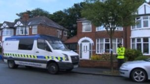 The couple were found dead at their house in Clough Avenue, Sale