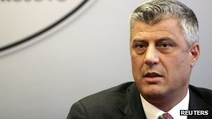 Kosovan Prime Minister Hashim Thaci (archive image)