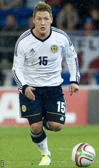Commons picked up an injury playing for Scotland against Belgium