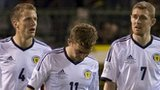 Christophe Berra, James Morrison and Darren Fletcher