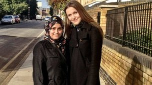 Mazeda Chowdhury (left) and Victoria Briggs