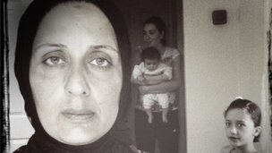 A Syrian mother and her family living in Izmir (Photo: Fergal Keane)