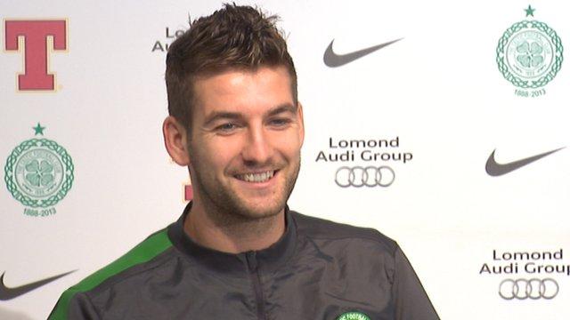 Celtic defender Charlie Mulgrew