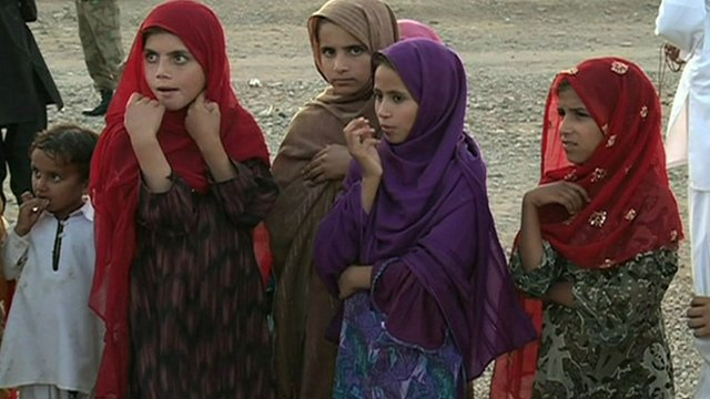 Children in  South Waziristan