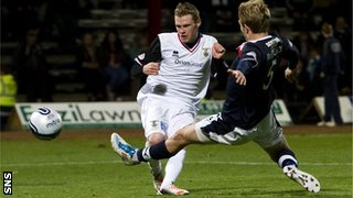 Billy McKay scores for Inverness against Dundee