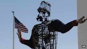 Big Tex, post-fire 19 October 2012