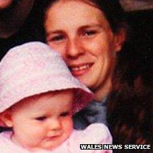Anastasia Jones, 22, and her daughter Amelia were both injured