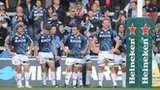 Cardiff Blues look dejected in their defeat to Sale