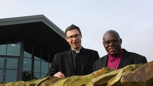 The Reverend Philip North and the Archbishop of York, Dr John Sentamu. Picture: The Diocese of York
