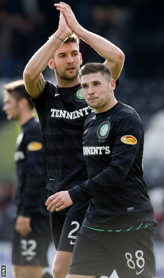 Charlie Mulgrew and Gary Hooper