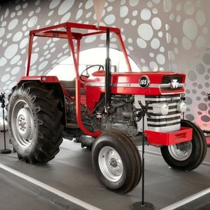 The 1970s Massey Ferguson tractor