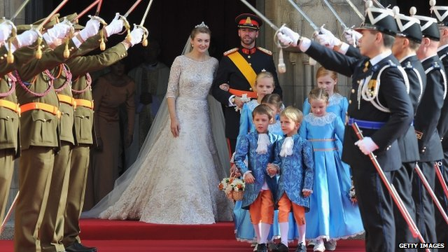 Wedding of Prince Guillaume Of Luxembourg and Stephanie de Lannoy