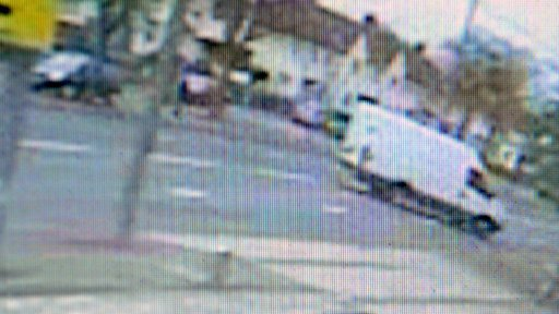 CCTV of the van